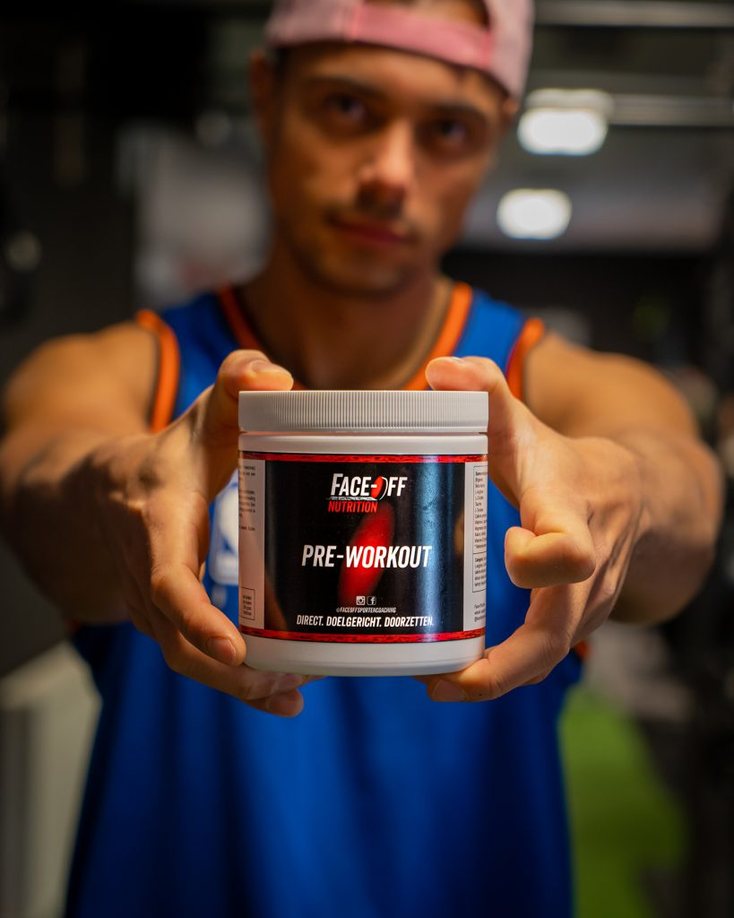 product fotografie pre workout